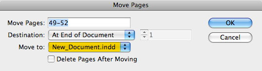 move pages window screen grab