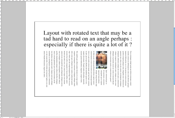 screen grab of rotated page