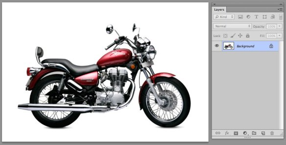 screen grab of initial flattened photoshop file