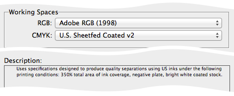 screen grab of US sheetfed offset description